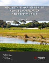Vero Beach Mainland Real Estate Market Report March 2021