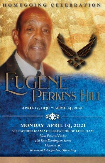 Eugene Hill Memorial Program
