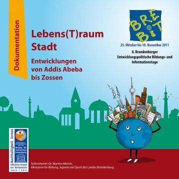 Lebens(T)raum Stadt - bei der RAA Brandenburg