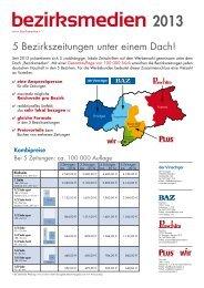 Erscheinungstermine 2012 - Zu den Bezirkszeitungen