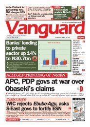 19042021 - ALLEGED PRINTING OF N60BN: APC, PDP govs at war over Obaseki's claims