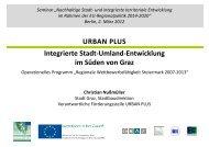 Integrierte Stadt-Land-Entwicklung im Rahmen von