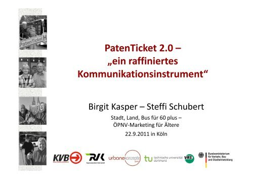 """PatenTicket 2.0 – """"ein raffiniertes Kommunikationsinstrument"""""""