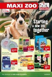 Maxi Zoo Flyer May