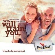 Body&Soul Infobroschüre 2021