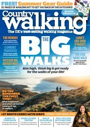 Country Walking April 2021