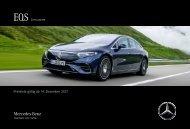 Mercedes-EQ EQS Preisliste