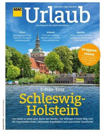 ADAC Urlaub Magazin, Mai-Ausgabe 2021