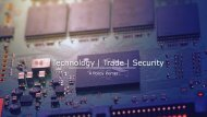 Trade   Technology   Security: A Policy Primer