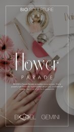 FLOWER PARADE Lookbook with Helpful Hints