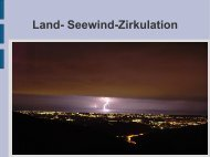 Land- Seewind-Zirkulation
