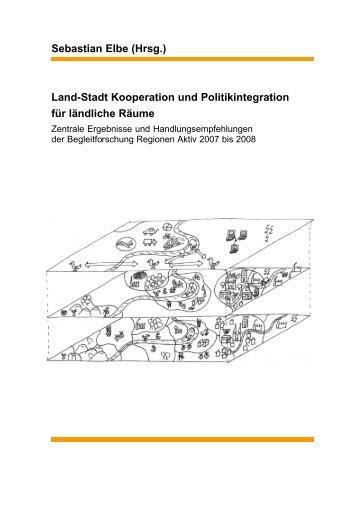 Land-Stadt Kooperation und Politikintegration für ländliche ... - sprint