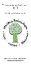 Veranstaltungen Stadtlauringen 2012.pdf - Schweinfurter OberLand