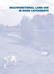 multifunctional land use - European Centre for River Restoration