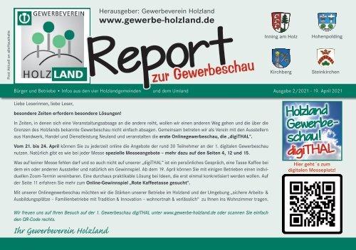 Holzland Report zur Gewerbeschau digiTHAL