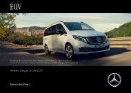 Mercedes-Benz Preisliste EQV