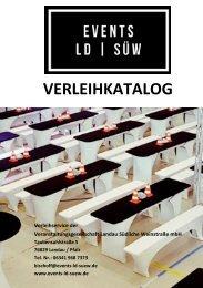Verleihkatalog Events LD | SUEW