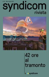 syndicom rivista N.22