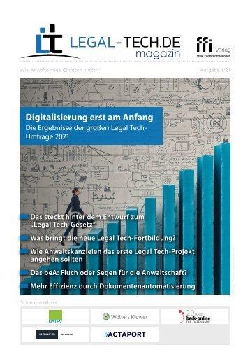 Legal Tech-Magazin 01/21