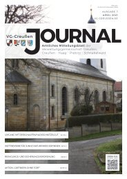Creußen Journal - Ausgabe 08 - April 2021