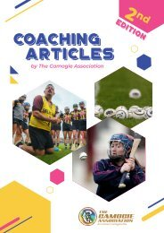 The Camogie Association Coaching Articles 2nd edition