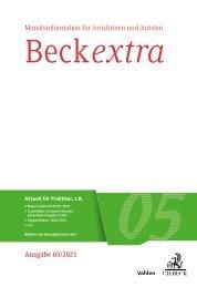 BeckExtra 05/2021