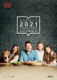 Vorschau Herbst 2021 - Ratgeber/Sachbuch - DK Verlag Dorling Kindersley
