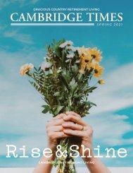 Cambridge Times Spring 2021 Newsletter