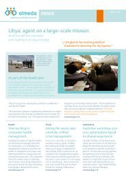 Libya: agent on a large-scale mission - Almeda