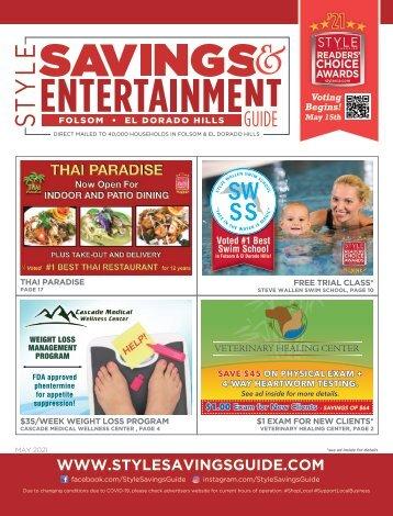 Savings and Entertainment Guide - May 2021