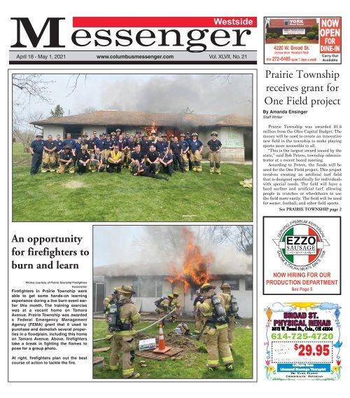 Westside Messenger - April 18th, 2021