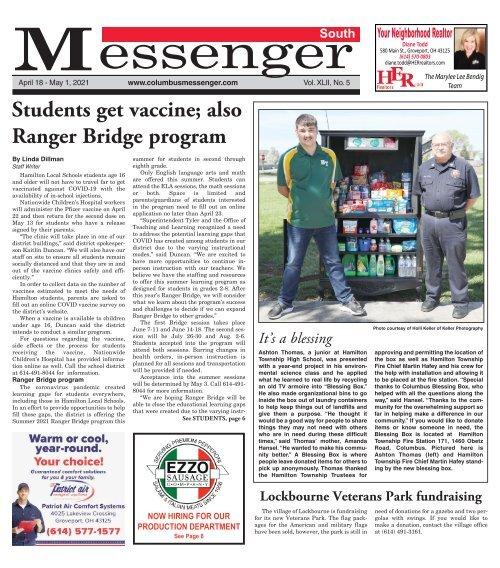 South Messenger - April 18th, 2021