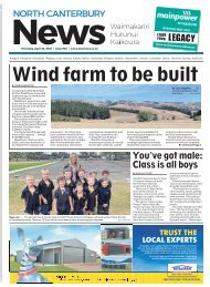 North Canterbury News: April 22, 2021
