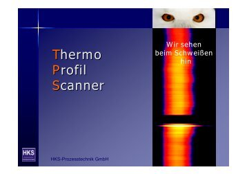 Thermo Profil Scanner Thermo Profil Scanner