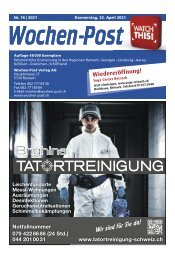 Wochen-Post   KW 16   22. April 2021