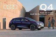Audi Q4 e-tron und Q4 Sportback e-tron Verkaufsunterlagen