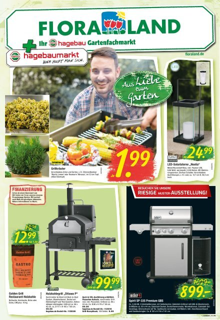 Floraland + Ihr bbk hagebaumarkt   KW 16