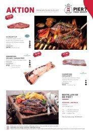 Pier7 Lagerverkauf Fleisch