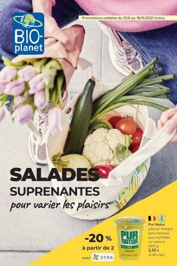 Salades suprenantes