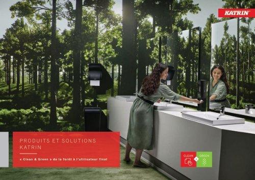 Katrin Catalogue 2021 | Solutions d'hygiène sûres et durables pour les sanitaires et les lieux de travail
