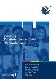 DISG Persönlichkeitsprofil Online - Gerd Mikol Consulting