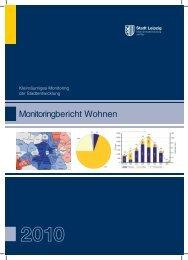 Monitoringbericht Wohnen 2010 - Stadt Leipzig