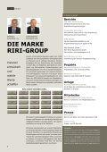 AM PULS DER ZEIT - riri-group - Seite 2