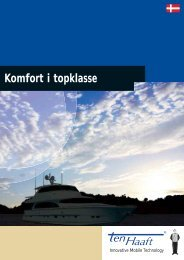 Produktegenskaber - ten Haaft GmbH