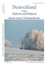 Deutschland-mein Sehnsuchtsland Ausgabe 1-2021
