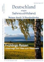 Deutschland mein Sehnsuchtsland Ausgabe März/April 2021