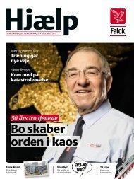Bo skaber orden i kaos - Falck