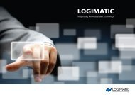 Se mere i ny firmabrochure - Logimatic
