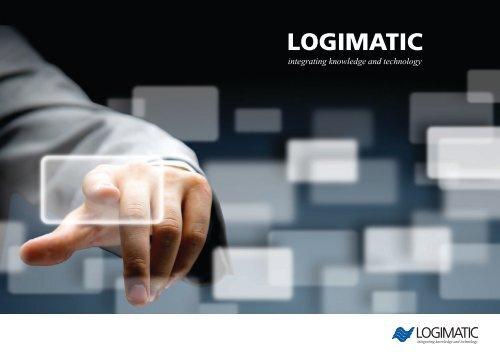 Se mere i ny firmabrochure - Logimatic