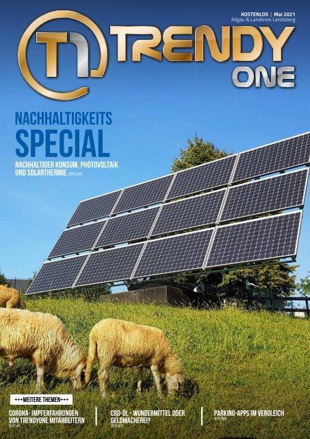TRENDYone | Das Magazin – Allgäu – Mai 2021